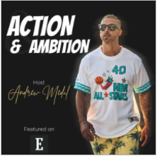 IX Water on Action and Ambition Entrepreneur Magazine